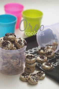 Masam Manis Milky Oreo Cookies Kue Gandum Resep Biskuit Kue Coklat Chip