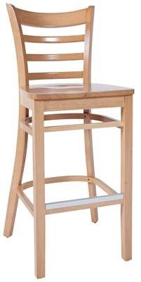 Grace Contemporary Timber Slatted Bar Stool In Natural Bar Stools Timber Slats Wooden Bar Stools