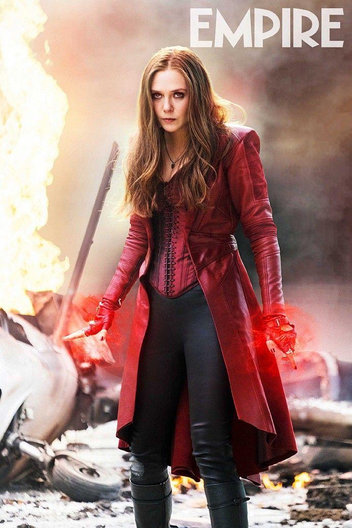 Scarlet Witch Civil War Wallpaper