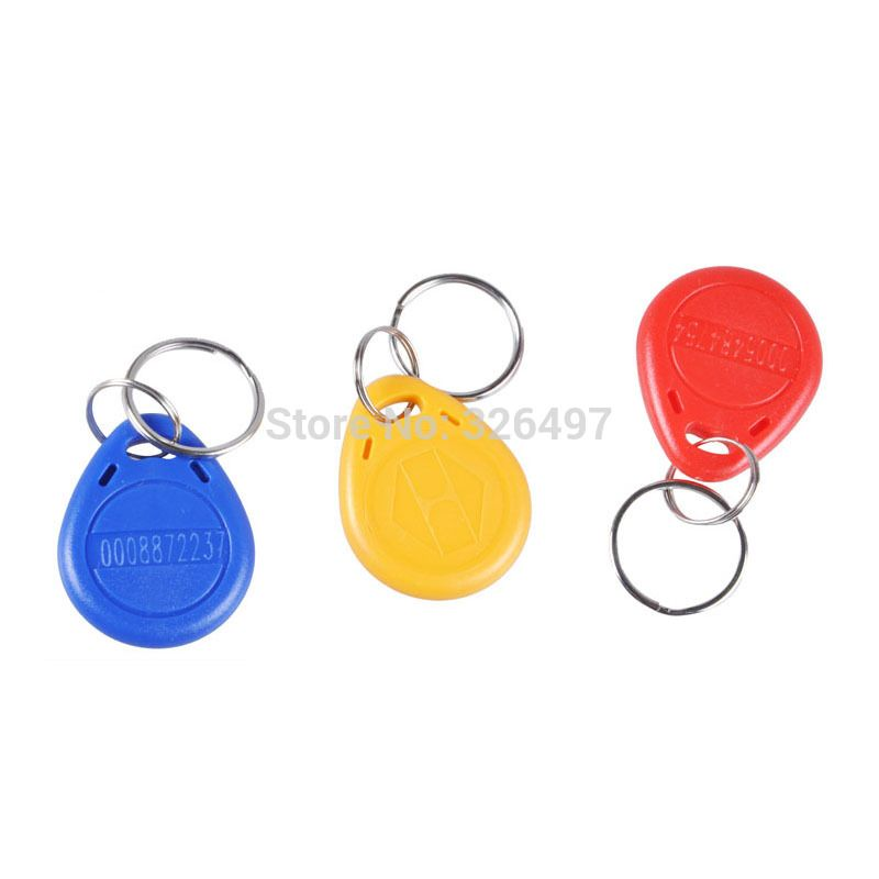 100pcs Rfid Cet5557 T5577 T5557 125khz Frequency Access Id Card Writable Write Copy Code Key Tag Keyfobs Iot Devices