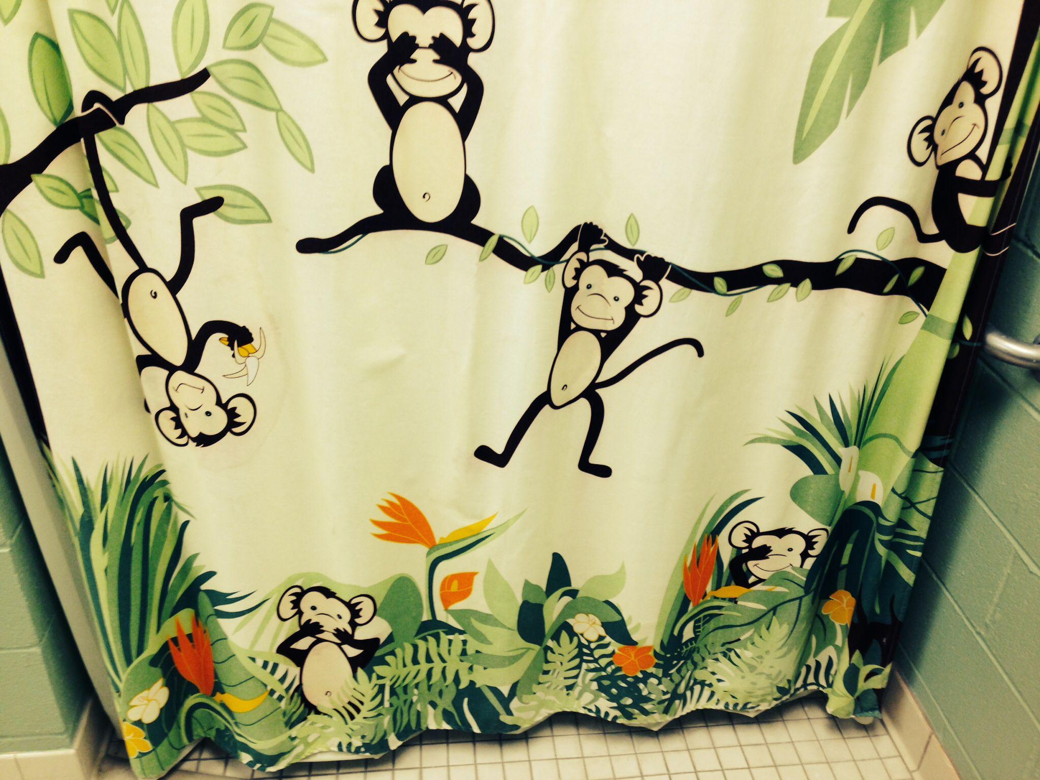 Rainforest shower curtain - Rainforest Shower Curtain