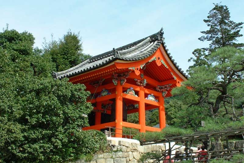 Belfry of Kiyomizu-dera, Kyoto, Japan