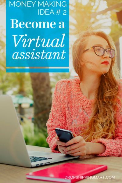 work from home virtual assistant If you're detail-oriented and have some extra time, you can make extra money by working as a virtual assistant from home. #makemoneyfromhome