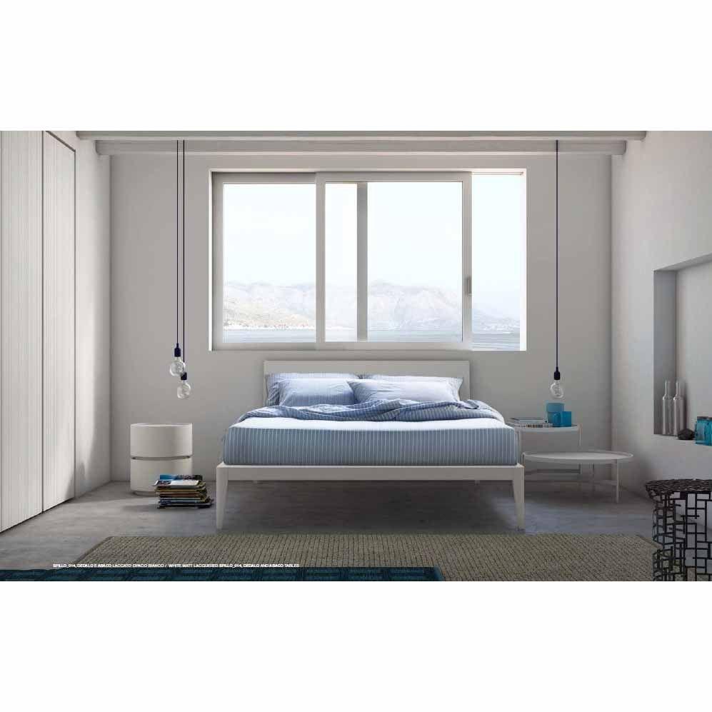 Letto matrimoniale in legno moderno Spillo di Pianca 03 | bedroom ...