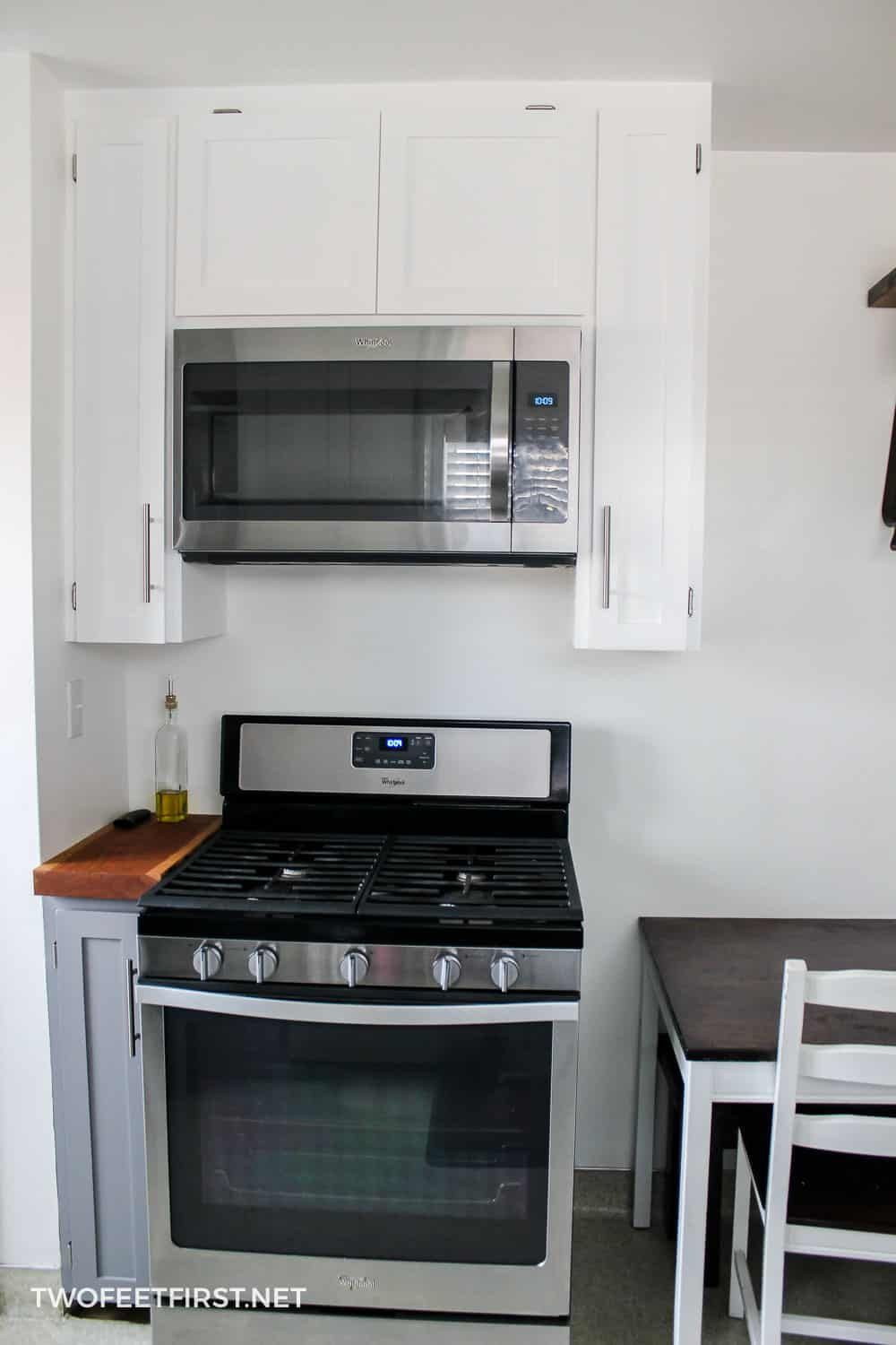 Installing An Over The Range Microwave Microwave In Kitchen