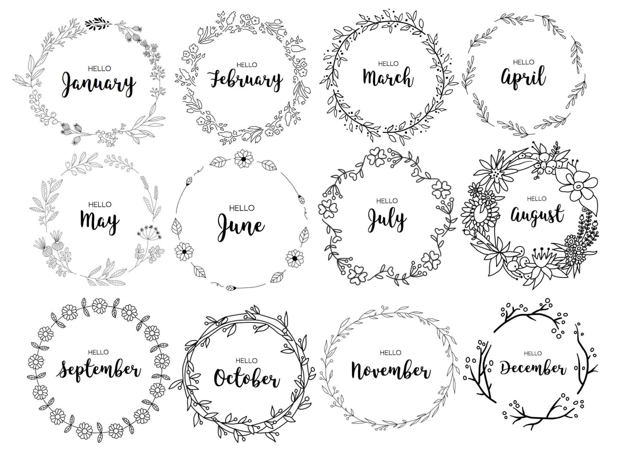 Pin By Victoria On Coloring Pages In 2020 Bullet Journal Bullet Journal Month Bullet Journal Doodles