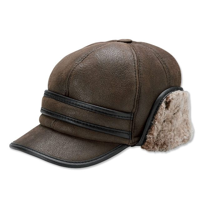 3e28d6d229f Just found this Shearling Hat for Men - Shearling Winter Ball Cap -- Orvis  on Orvis.com!