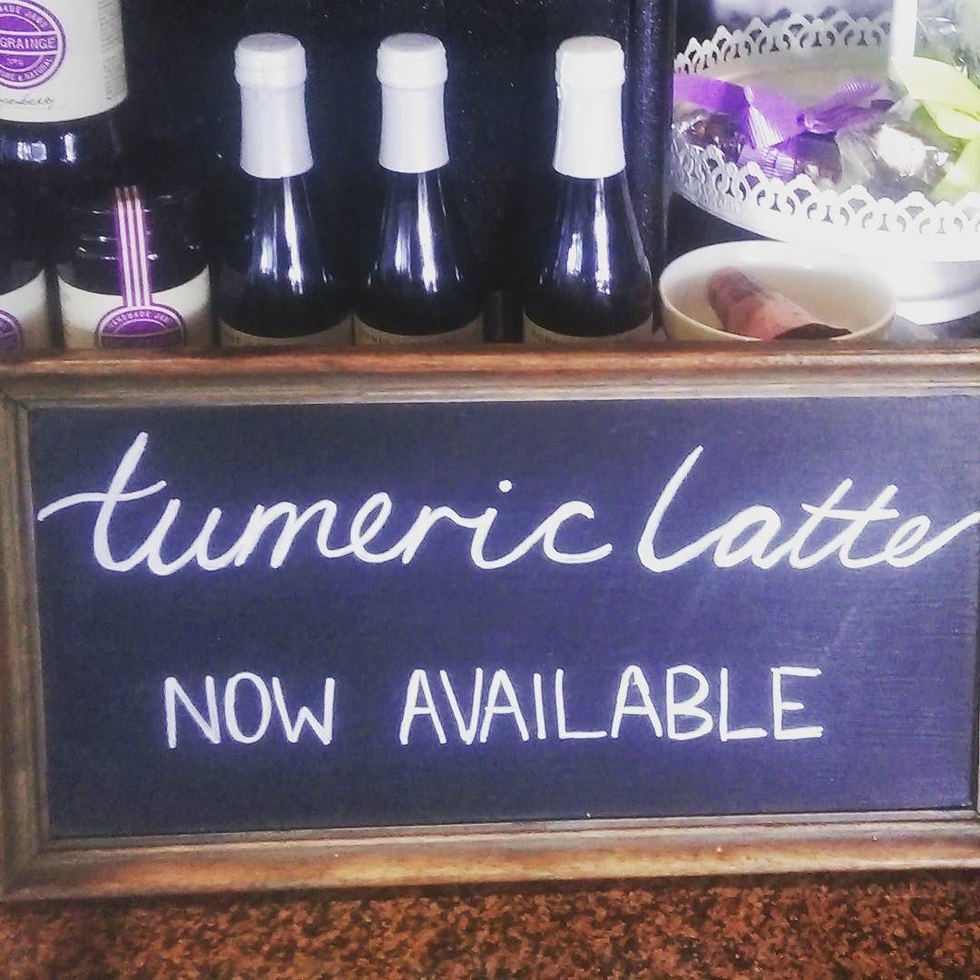 N E W @ Diva !! Come in and try our new turmeric latte >>its delicious and full of anti-inflammatory antioxidants and nutrients!