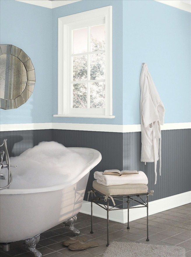 Bright And Early Snows Home And Garden Light Blue Bathroom Best Bathroom Paint Colors Bathroom Paint Colors