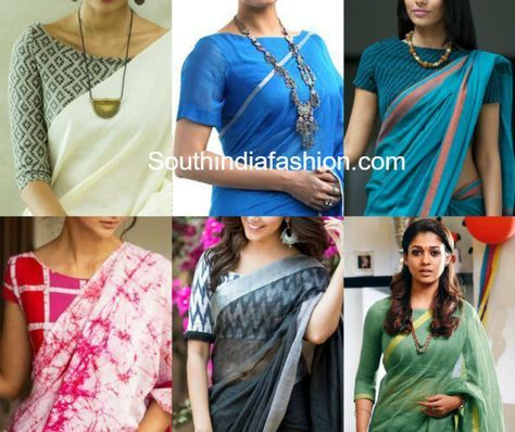 Formal saree blouse designs pictures