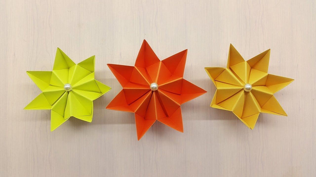 Diy Paper Flower Flower Making Easy Paper Craft Ideas Easy