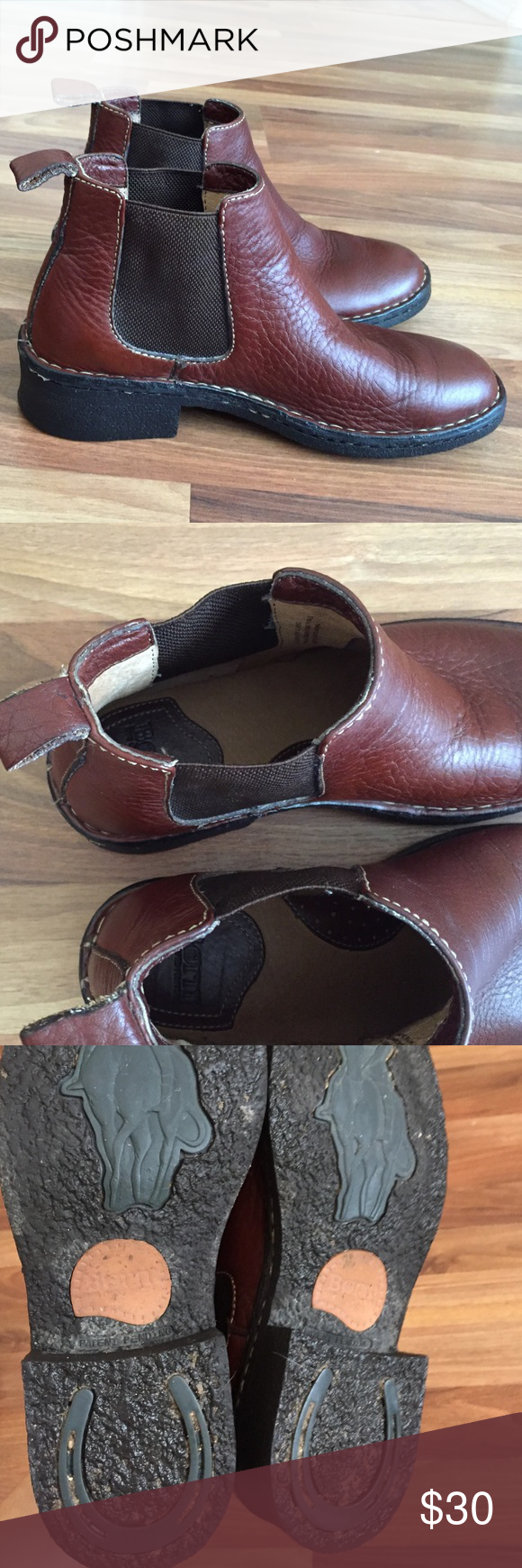 Born Chelsea Pull On Boots Well Made Freshly Cleaned