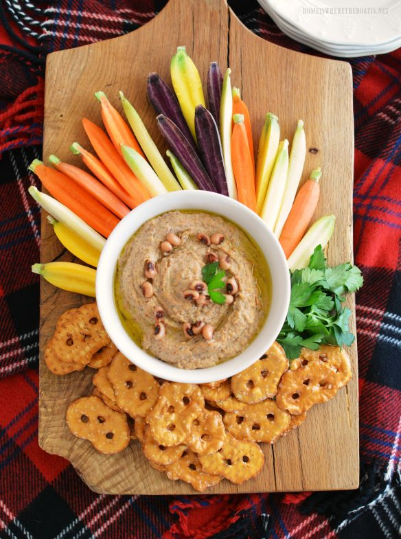 Good Luck New Year Appetizer: Black-Eyed Pea Hummus | New ...