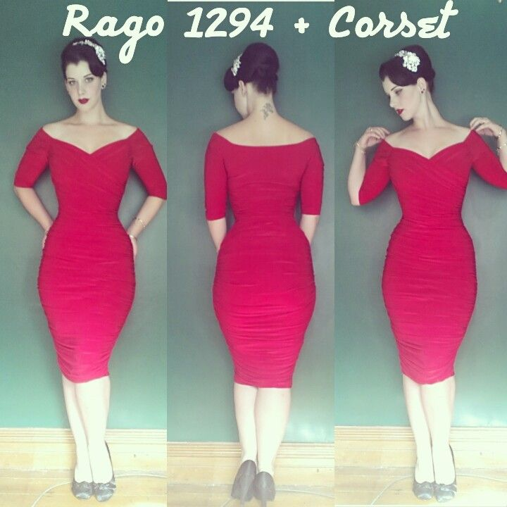 41d30aae3dd Miss Victory Violet shares how Rago Shapewear helped her get the perfect  silhouette under her Pinup Girl Clothing  Monica  dress.