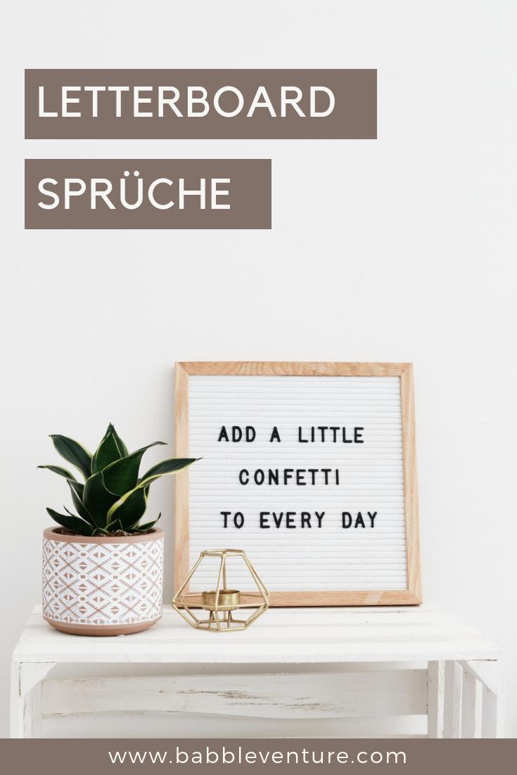 Letterboard Sprüche, Dekoideen & Tipps zum Kauf   Sprüche ...