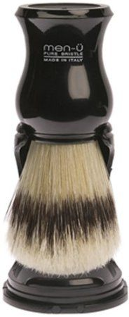 Amazon.com: Barbiere Shaving Brush and Stand: Black: Beauty - $19.95