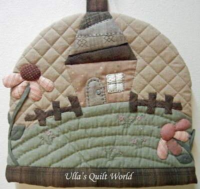 Ulla's Quilt World: Quilted Tea Cosy - Japanese patchwork ... : quilted tea cosy - Adamdwight.com