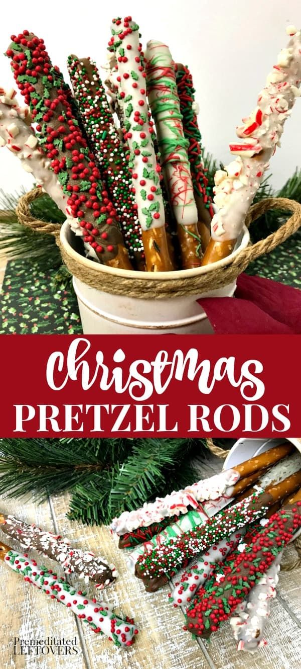 The Christmas Pretzel Rods Recipe is a great addition to your holiday baking. Co…