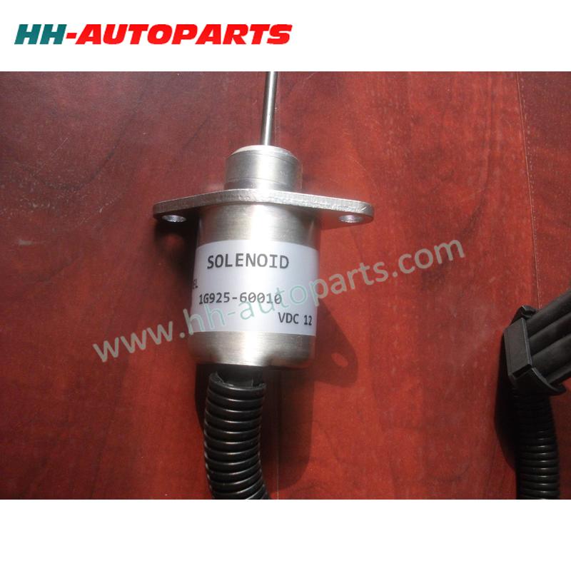 Kubota Fuel Stop Solenoid 1G925-60010 | Stop Solenoid