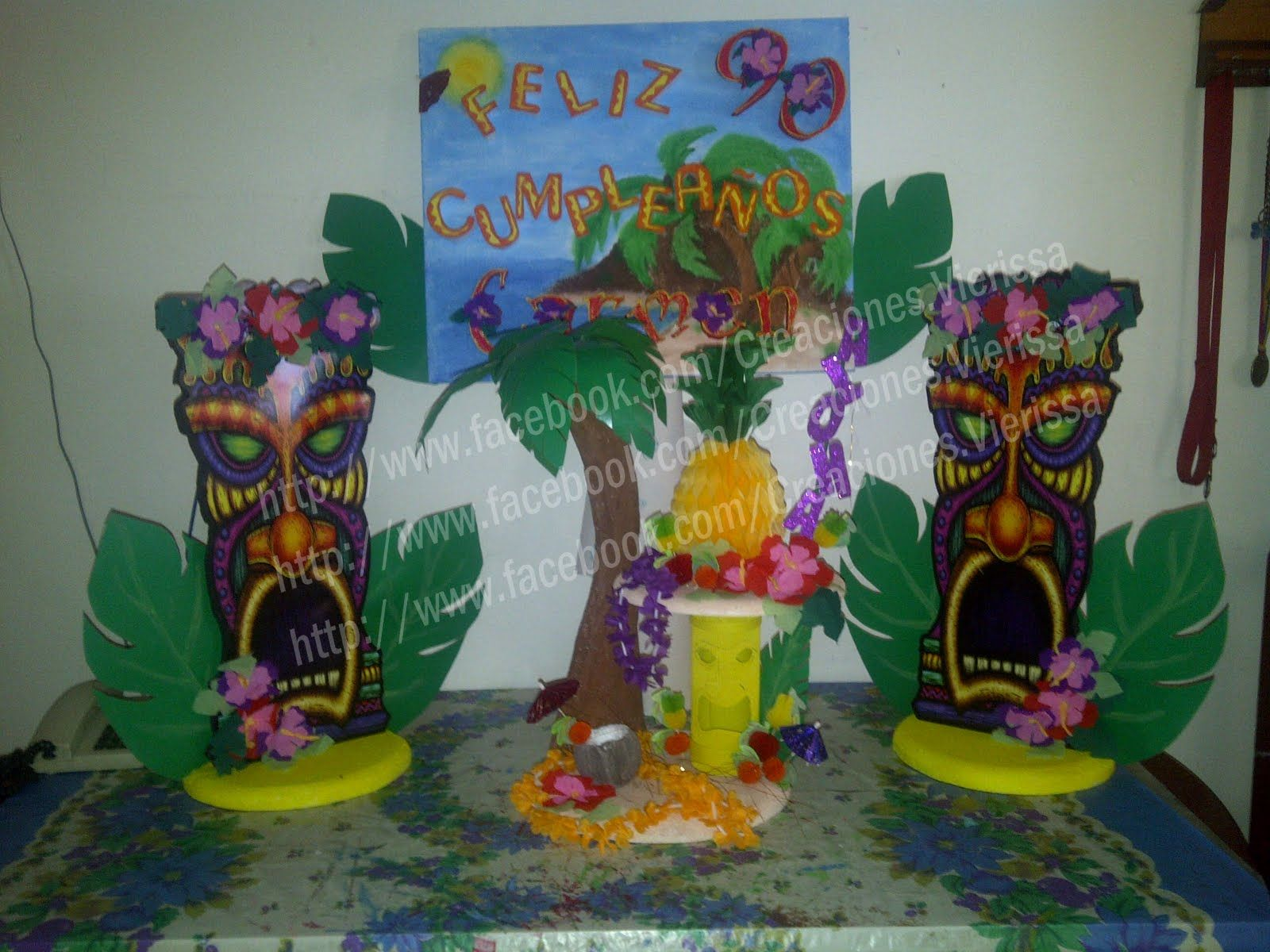 Decoracion fiesta hawaiana en piscina buscar con google totem pinterest totems - Fiesta hawaiana ideas decoracion ...