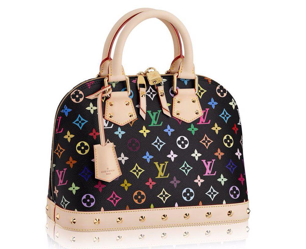 Louis Vuitton is Finally Discontinuing Murikami s Monogram Multicolor Line  - Louis-Vuitton-Monogram-Multicolore-Alma-PM-Bag cc37c788896ec