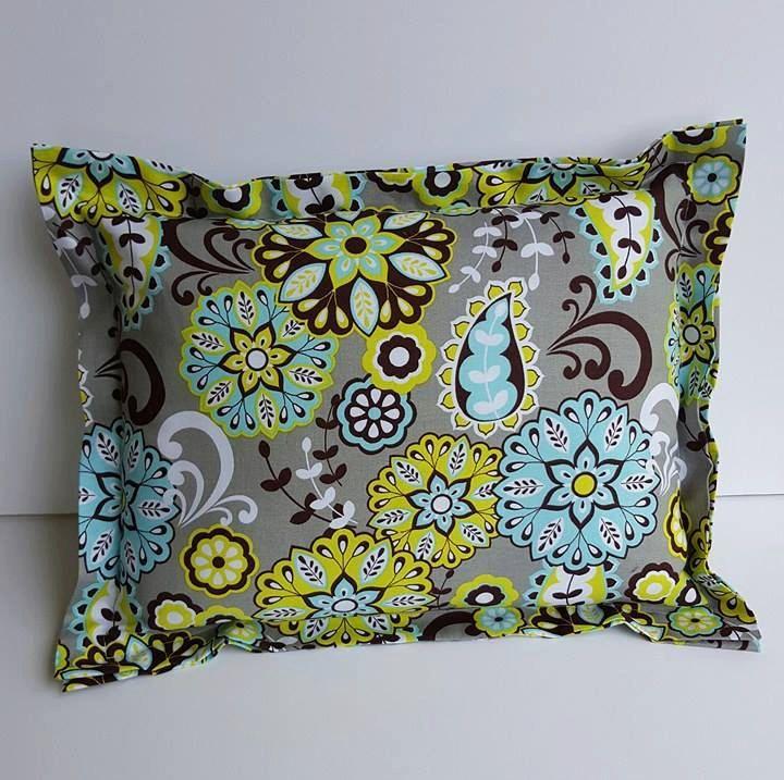 Handmade Paisley Decor Fabric Pillow, Bed Pillow, Couch Pillow, Decorative  Pillow, Throw