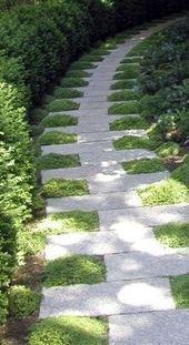 Photo of 42 tolle Ideen für DIY Gartenwege und Gehwege – Garten