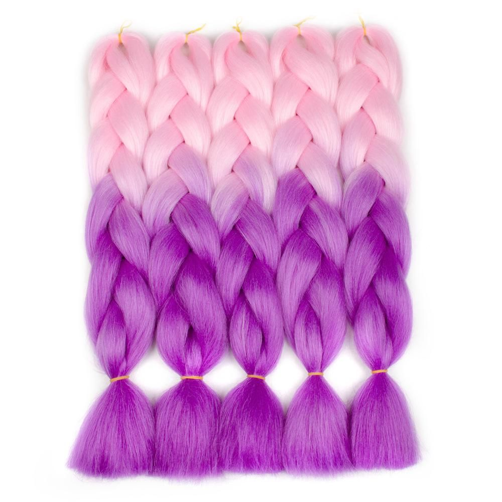Aigemei synthetic crochet braids hair extensions kanekalon braiding