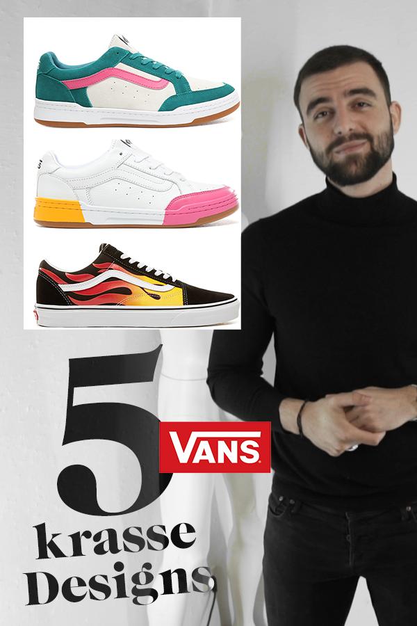5 Vans Sneaker mit krassem Design! (trägt nicht jeder   Vans