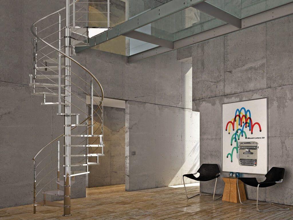 escaleras de caracol para tu hogar