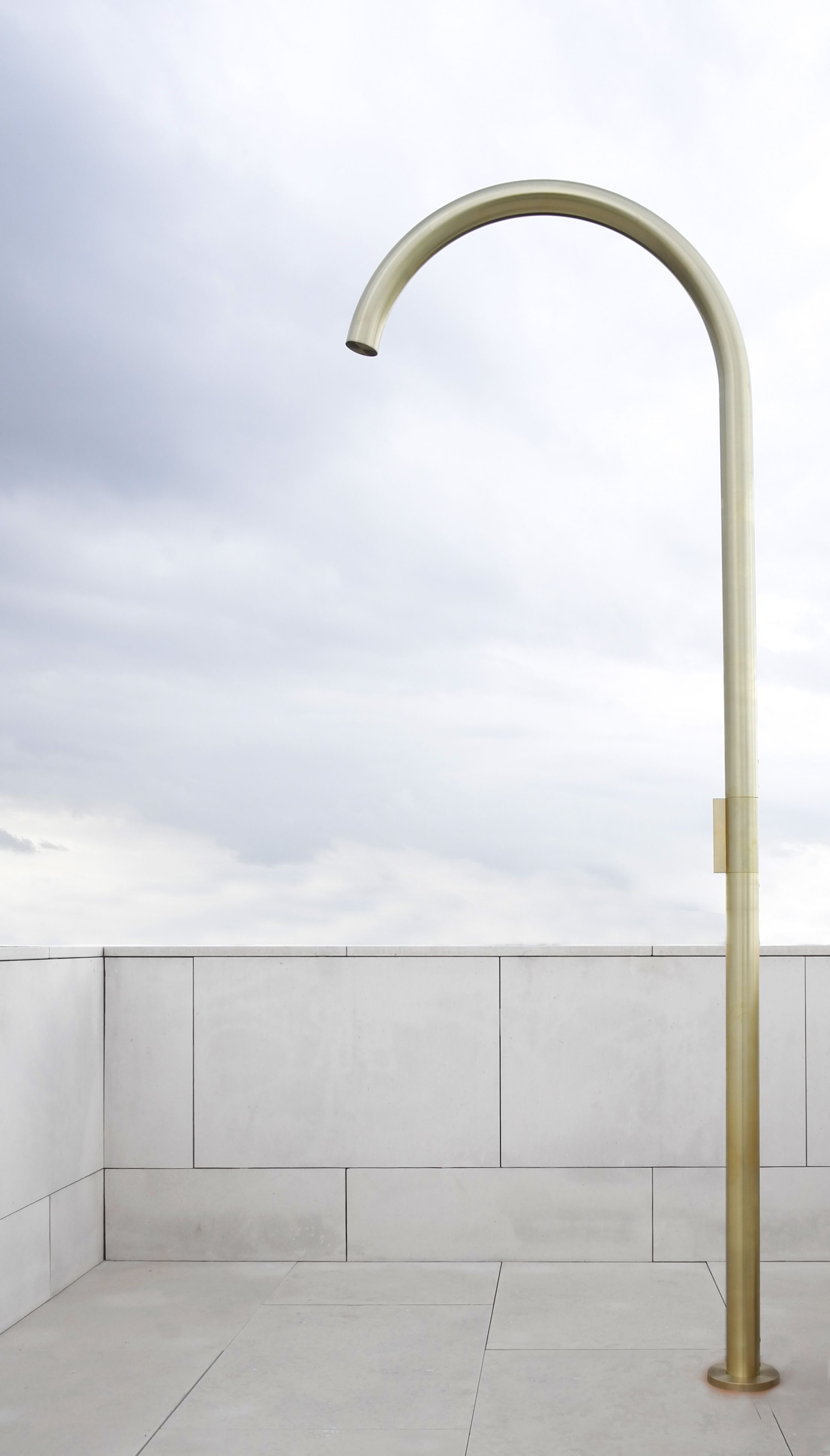 Grace Outdoor Shower Hans Verstuyft Architects Purificare Us