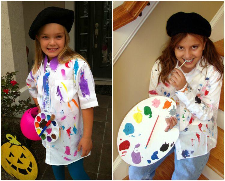 maler artist kost m barett m tze carnival costumes kids. Black Bedroom Furniture Sets. Home Design Ideas