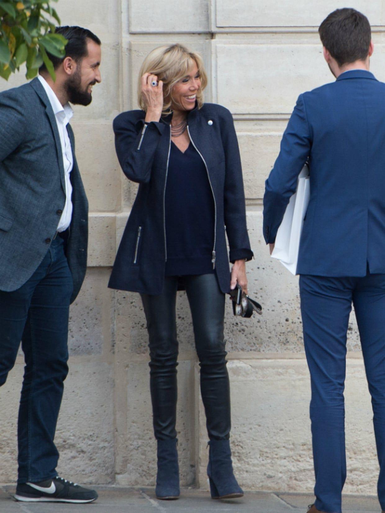 Brigitte Macron Brigitte macron, Premières dames, Mode