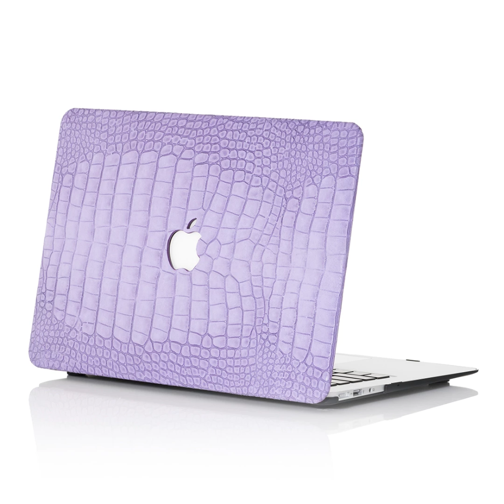 Lavender Faux Crocodile MacBook Case in 2020 Macbook