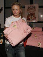 Superstar Vocalist & Entertainer, Miranda Lambert -  Miranda Leigh Shelton, selecting pink fleece footie pajamas by Big Feet #bigfeetpjs #mirandalambert