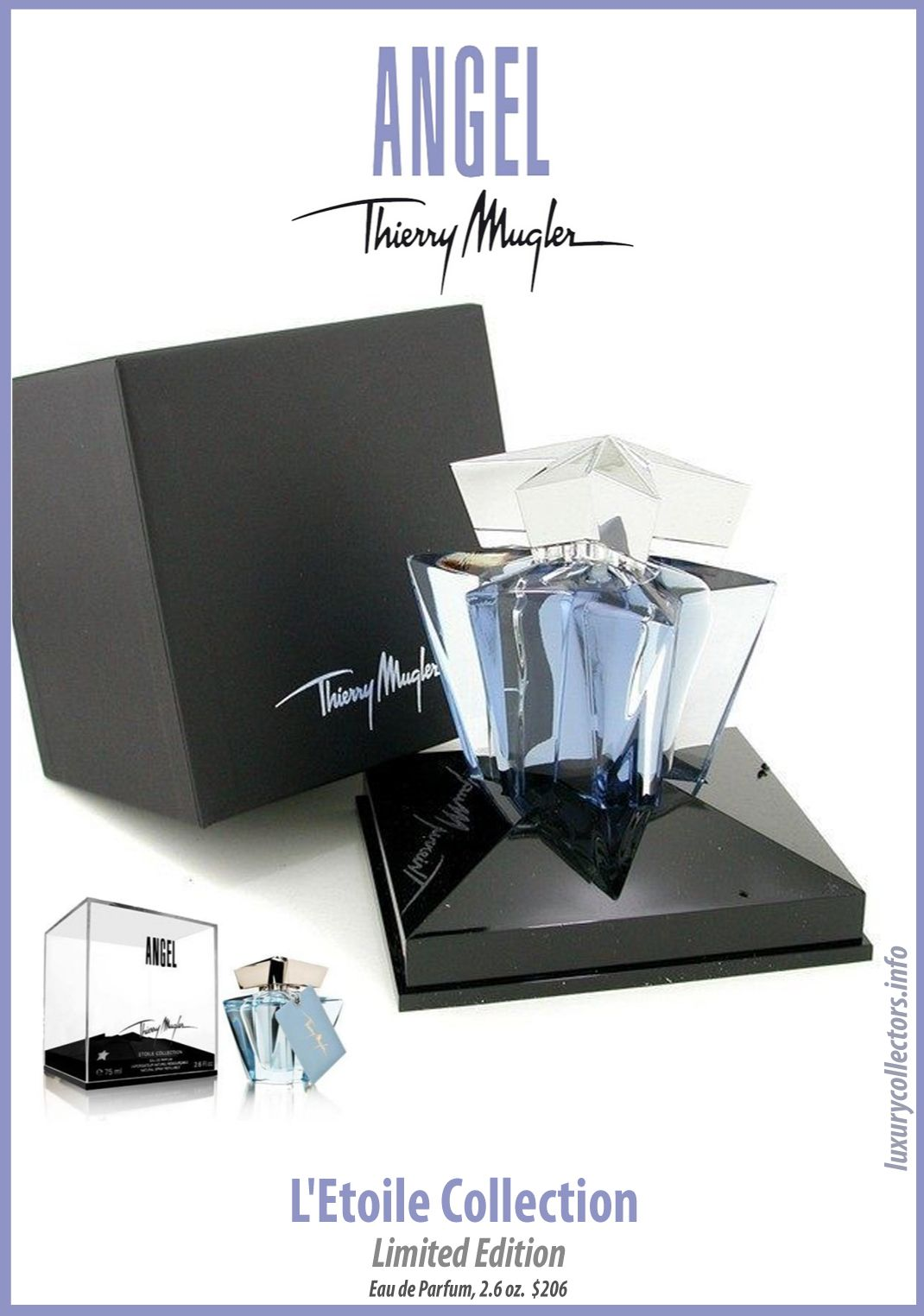 c1bb799f0 Thierry Mugler Angel Perfume Collector s Limited Edition Bottle Etoile