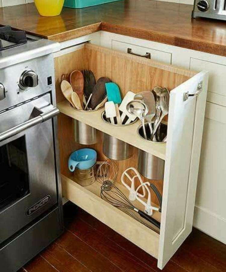 Clutter Free Counter  Declutter Your Home  Pinterest  Free Impressive Kitchen Organization Ideas Design Inspiration