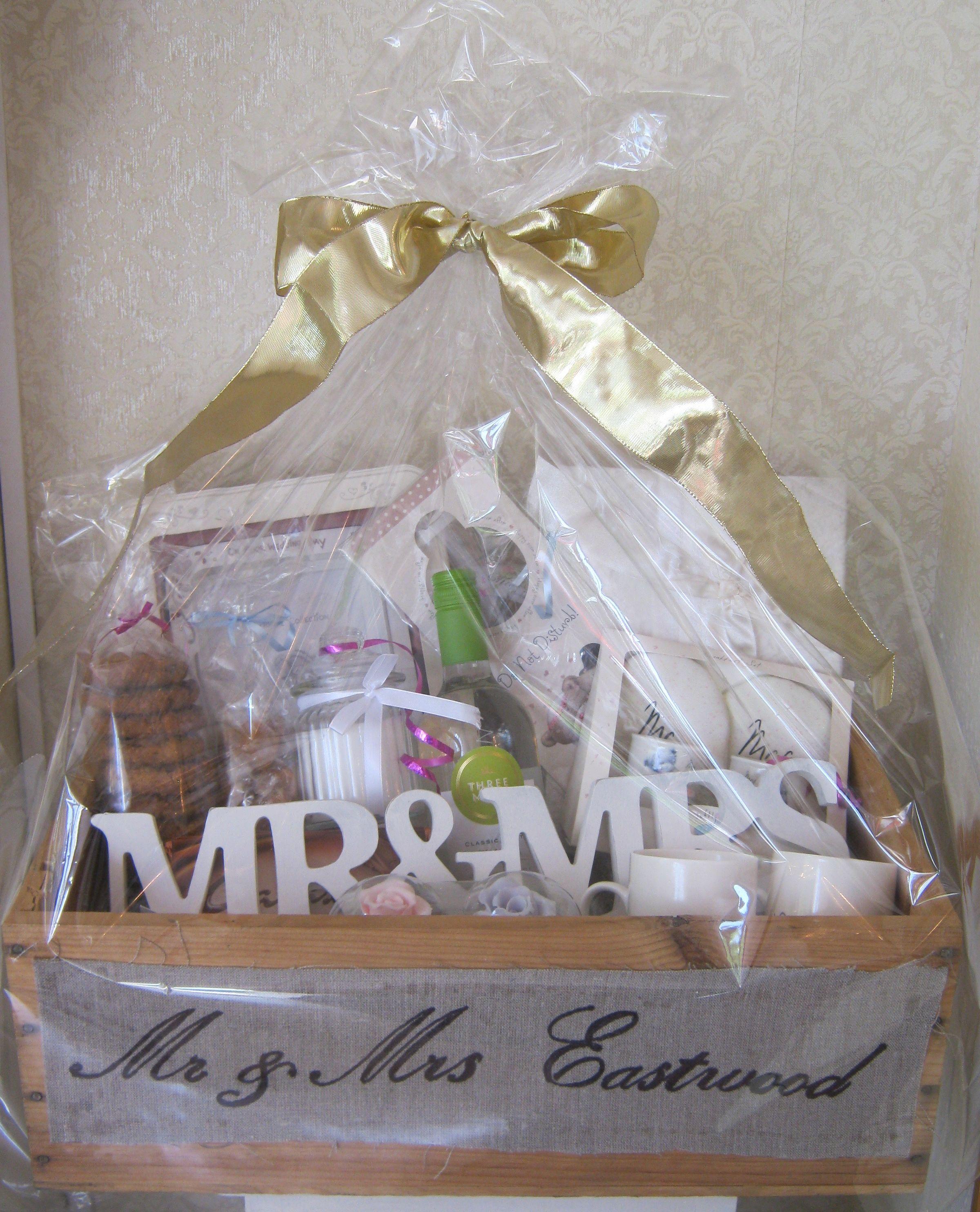 Gift Basket Wrapping Ideas Wedding Hamper Wwwchic Dreamscouk Wedding Pinterest