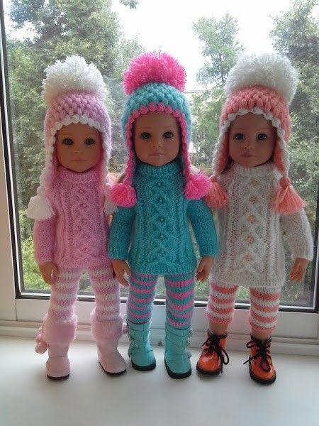Pin von Verena Judis auf häkeln | Pinterest | Puppen, Puppenkleidung ...