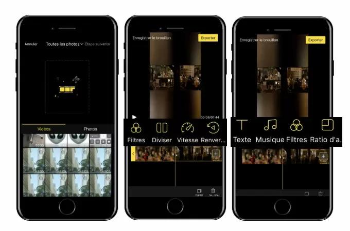 Meilleurs Logiciels de Montage Vidéo Gratuit sur iPhone