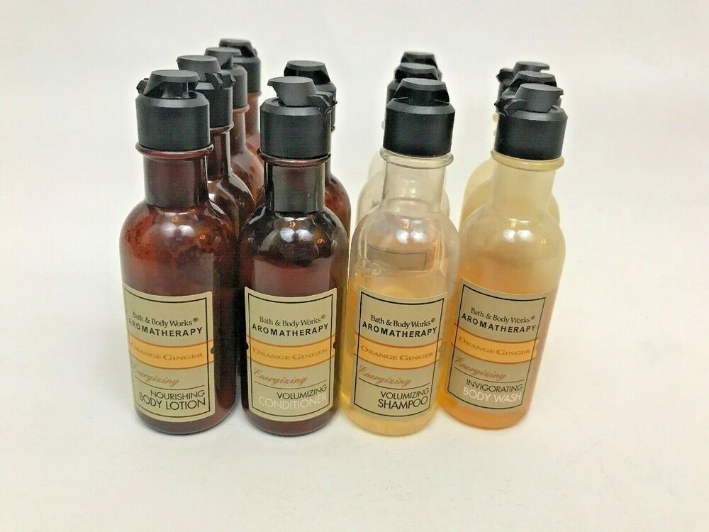 Bath Body Works Aromatherapy Orange Ginger Shampoo Conditioner Lotion Wash Lot Bathbodyworks Bath And Body Works Bath And Body Body Works