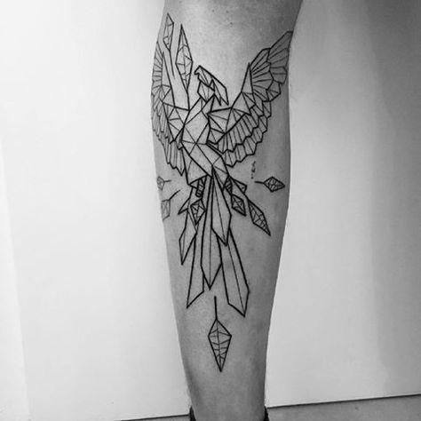 53 Trendy Tattoo Geometric Phoenix