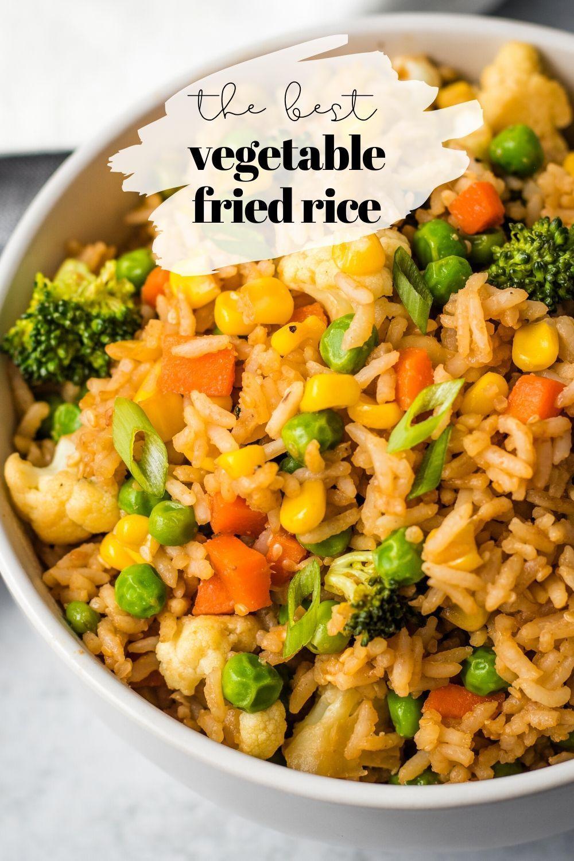 Easy Vegetable Fried Rice Karissa S Vegan Kitchen Recipe Veggie Fried Rice Fried Rice Veggies