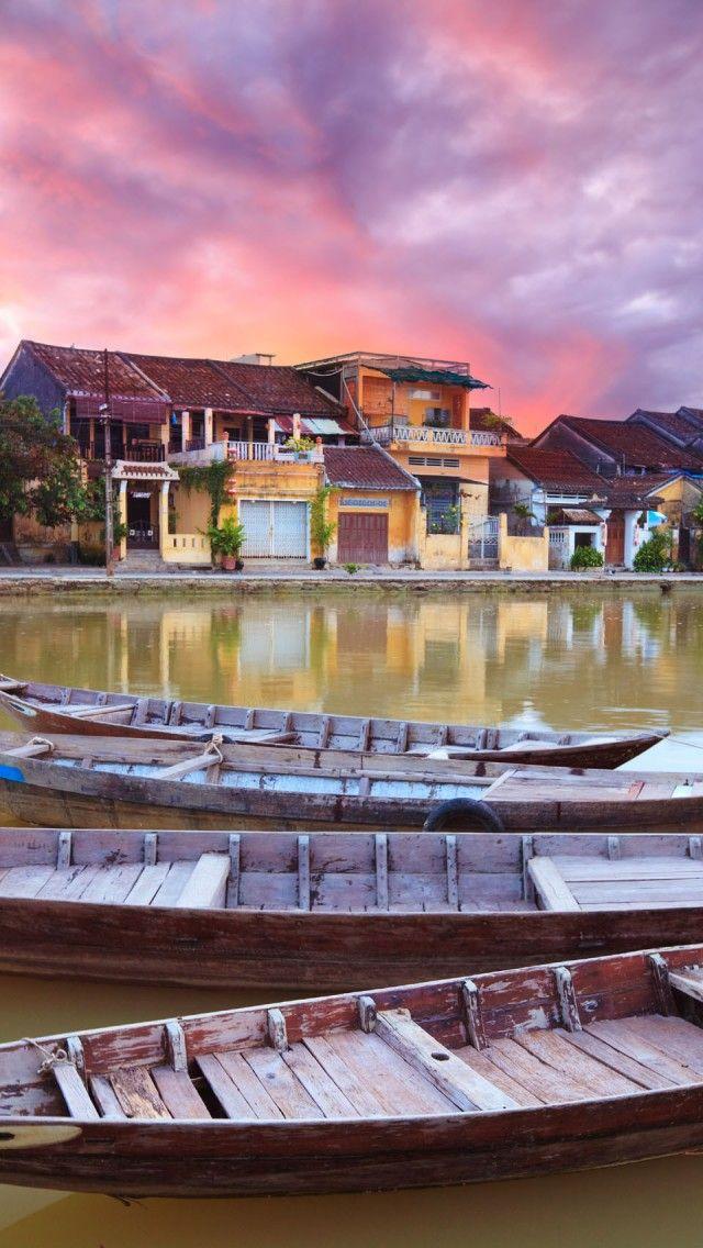 Hoi An Vietnam Iphone 5 Wallpapers Backgrounds 640 X 1136