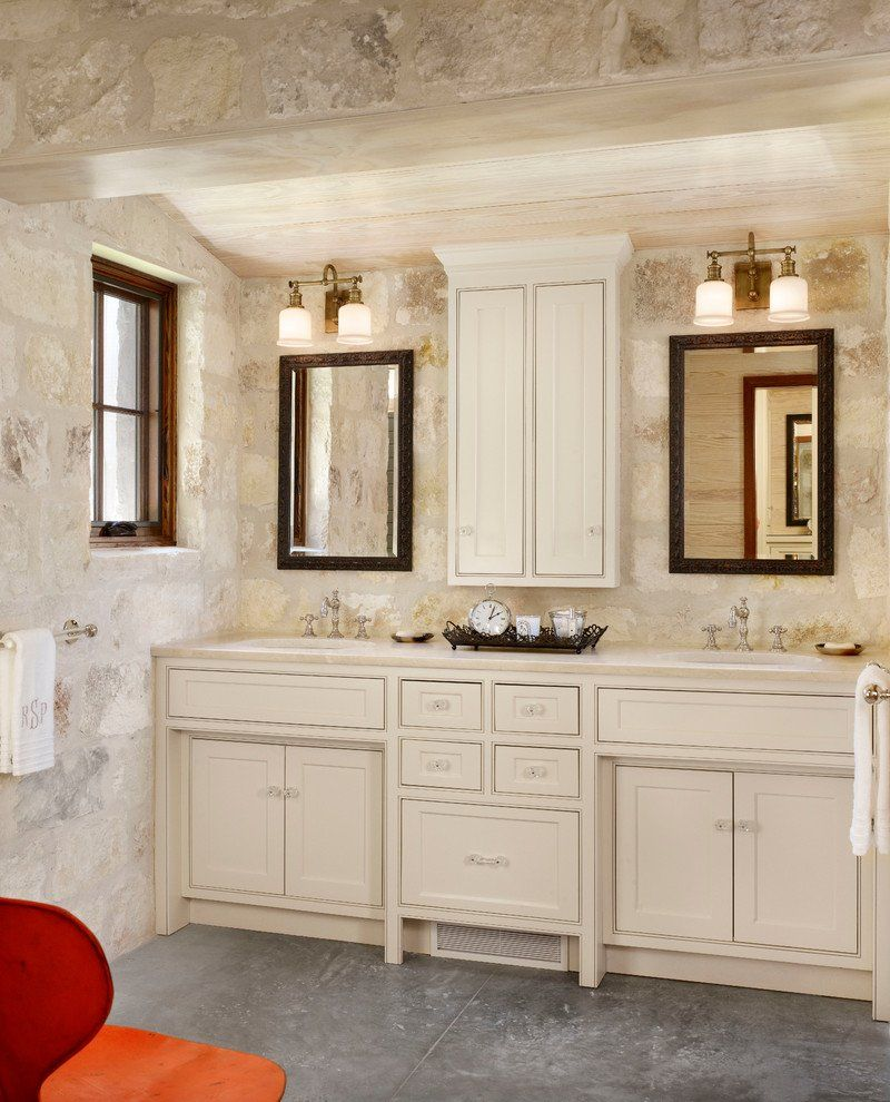Cherry Bathroom Wall Cabinet Farmhouse Stone Wall Guideline To Build ...
