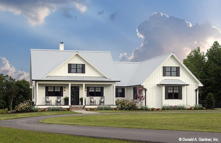The Coleraine House Plan From Donald A Gardner House Plans Features A Large Country Style House Plans Farmhouse Style House Plans Craftsman Style House Plans