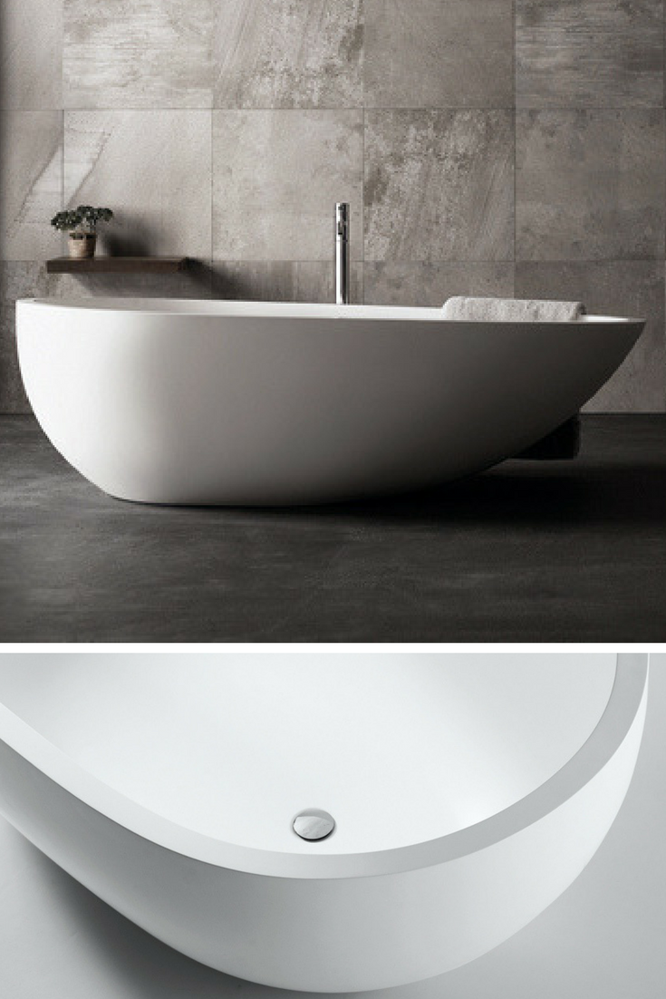 Eigg Bathtub by Claybrook Interiors / Free Standing Marbleform ...