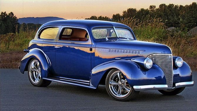 1939 Chevrolet Master Deluxe Street Rod 409 450 Hp Automatic Mecum Auctions Street Rods Chevrolet Fuel Truck