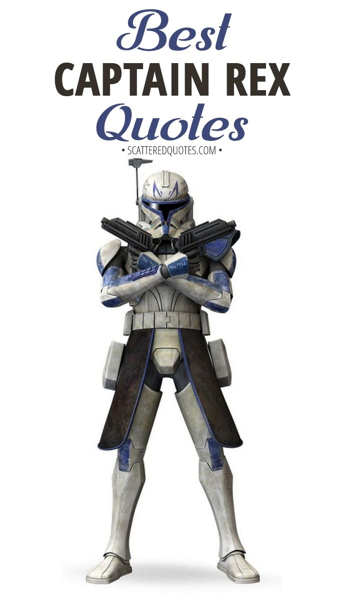 10 Best Captain Rex Quotes Star Wars Tattoo Star