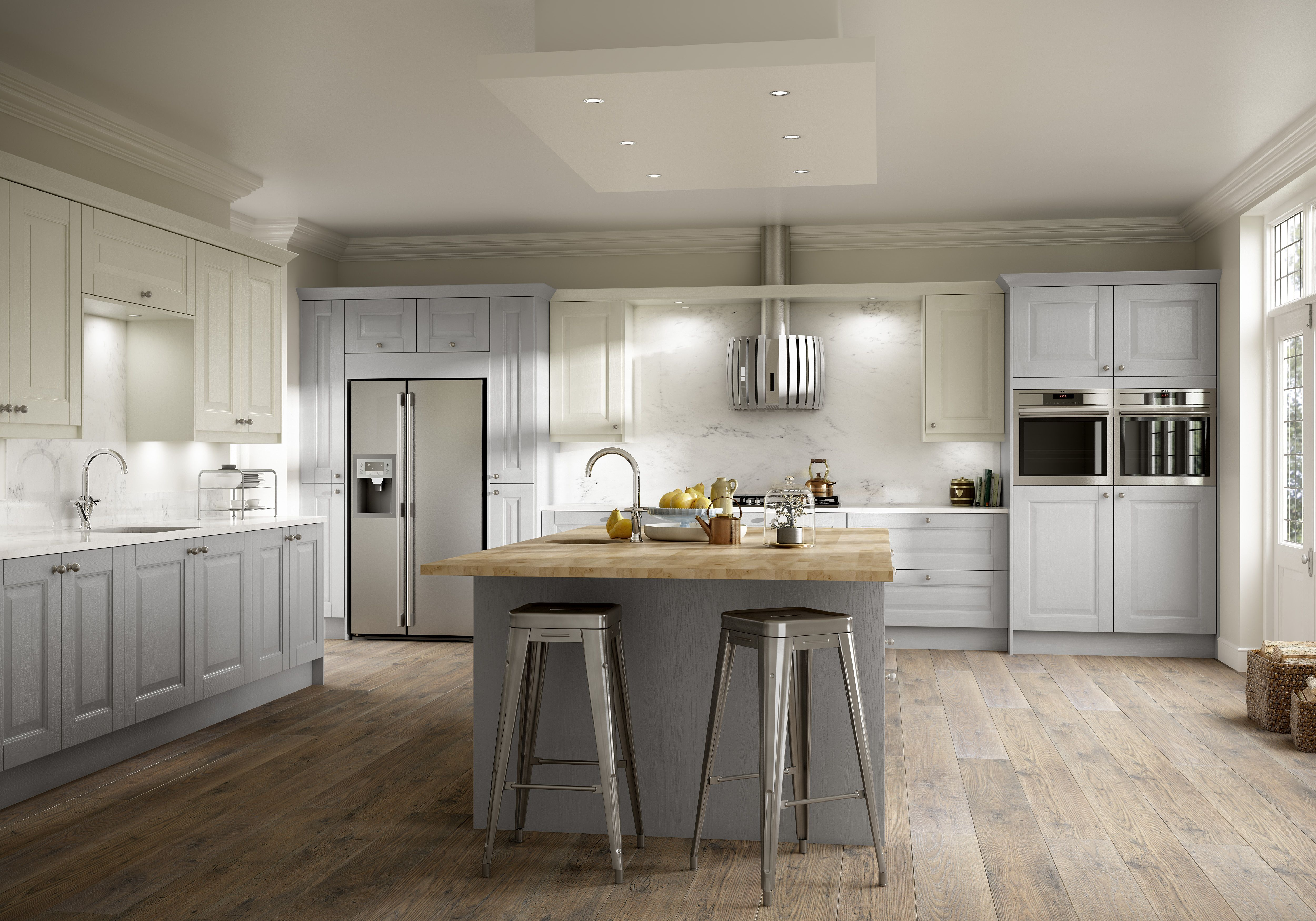 Wexford PTO Skylon Grey & Ivory - the paint to order finish is ...